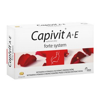 Capivit A+E Forte System, kapsułki, 30 szt.