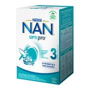 Nestle Nan Optipro 3, mleko modyfikowane Junior dla dzieci po 1 roku 800 g