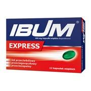 Ibum Express, 400 mg, kapsułki miękkie, 12 szt.