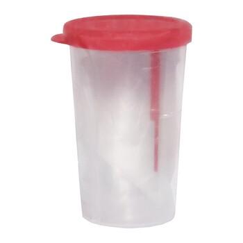 Pojemnik z łopatką do pobierania kału, jałowy, 20 ml