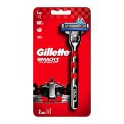 Gillette Mach3 Turbo, rączka, 1 szt. + ostrza wymienne, 2 szt.