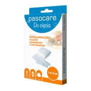 Pasocare Soft Plus, plaster włókninowy z opatrunkiem, 1 m x 8 cm, 1 szt.