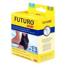 Futuro Basic Sport, regulowana opaska na kostkę, czarna, 1 szt.