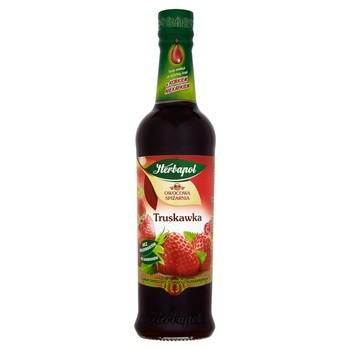 Syrop Truskawka, 420 ml, Owocowa Spiżarnia (Herbapol Lublin)