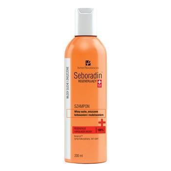 Seboradin Regenerujący, szampon do włosów suchych i zniszczonych, 200 ml