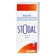 Boiron Stodal, syrop na kaszel, 200 ml