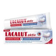 Lacalut Aktiv Ochrona Dziąseł & Łagodne Wybielanie, pasta do zębów, 75 ml
