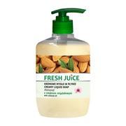 Fresh Juice, kremowe mydło w płynie, almond z olejkiem migdałowym, 460 ml