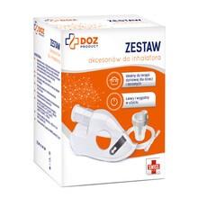 DOZ PRODUCT Zestaw akcesoriów do inhalatora
