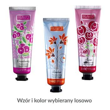 Beauty Formulas, nawilżający krem do rąk, Amber/Rose/Cramberry, 30 ml