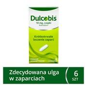 Dulcobis, 10 mg, czopki, 6 szt.