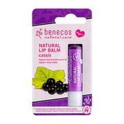 Benecos Natural Lip, balsam do ust, Czarna porzeczka, 4,8 g