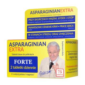 AsparaginianExtra, tabletki, 75 szt.