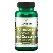 Swanson Full Spectrum Boswellia & Curcumin, kapsułki, 60 szt.
