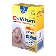 D-Vitum, witamina D dla niemowląt, 6 ml (aerozol)