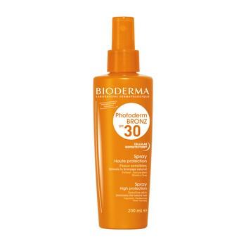 Bioderma Photoderm Bronz, spray przyspieszający opalanie, SPF 30, 200 ml