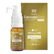 Cannabigold vital, krople, 12 ml