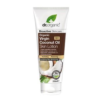 Dr. Organic Virgin Coconut Oil, lotion do ciała z olejkiem kokosowym, 200 ml
