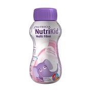 NutriKid Multi Fibre, smak truskawkowy, płyn, 200 ml