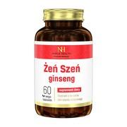 Żeń-szeń ginseng, kapsułki, 60 szt. (Noble Health)