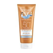 Vichy Capital Soleil Wet Skin Gel, emulsja ochronna dla dzieci SPF 50+, 200 ml