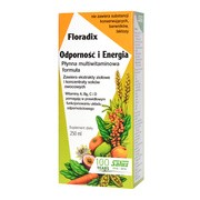 Floradix Odporność i Energia, płyn, 250 ml