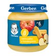 Gerber, jabłuszka z biszkoptem, 6 m+, 125 g