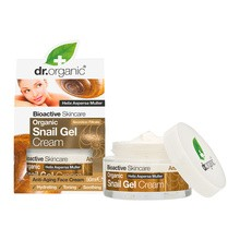 Dr.Organic Snail Gel, krem do twarzy ze śluzu ślimaka, 50 ml