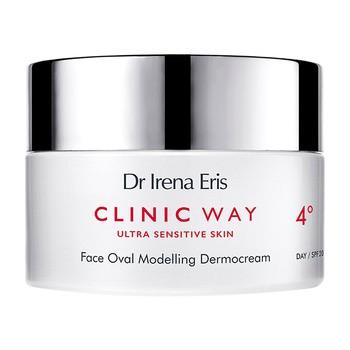 Dr Irena Eris Clinic Way 4°, lifting peptydowy, krem na dzień, SPF 20, 50 ml