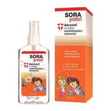 Sora Protect, aerozol na włosy zapobiegający wszawicy, 50 ml