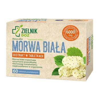 ZIELNIK DOZ Morwa biała, tabletki powlekane, 60 szt.