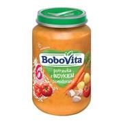 BoboVita, obiadek potrawka z indykiem i pomidorami, 6 m+, 190 g