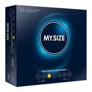 MY.SIZE, prezerwatywy, rozmiar 53 mm, 36 szt.
