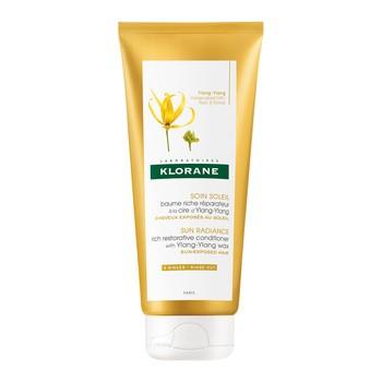 Klorane Pielęgnacja Słoneczna, regenerujący balsam na bazie wosku Ylang-Ylang, 200 ml