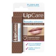 FlosLek Laboratorium Lip Care, pomadka ochronna z masłem kakaowym, 1 szt
