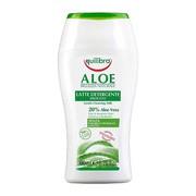 Equilibra, łagodne mleczko aloesowe do demakijażu, 200 ml
