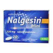 Nalgesin Mini, 220 mg, tabletki powlekane, 20 szt.