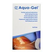 Aqua-Gel, sterylny opatrunek hydrożelowy, 6 x 12 cm, 1 szt.
