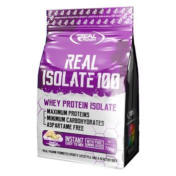 Real pharm Real isolate 100, smak waniliowy, proszek, 700 g