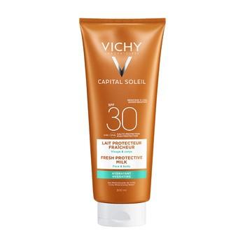 Vichy Ideal Soleil, ochronne mleczko do twarzy i ciała, SPF 30, 300 ml