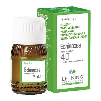 Lehning Echinacea complexe Nr 40, krople, 30 ml