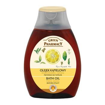 Green Pharmacy, olejek do kąpieli, goździkowiec i cytryna, 250 ml