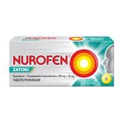 Nurofen Zatoki, 200 mg + 30 mg, tabletki powlekane,12 szt.