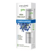 Enilome Healthy Beauty Green, krem pod oczy z chabrem bławatkiem, 15 ml