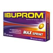 Ibuprom Max Sprint, 400 mg, kapsułki miękkie, 10 szt.