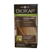 Biokap Nutricolor Delicato, farba do włosów, 9.3 bardzo jasny złoty blond, 140 ml
