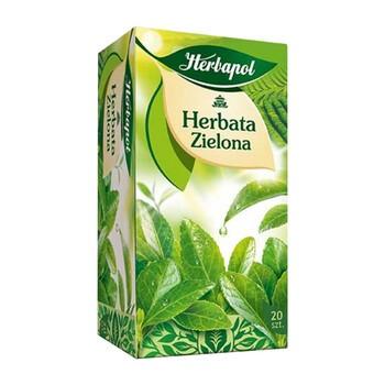 Herbata zielona, fix, 2 g, 20 szt. (Herbapol Lublin)