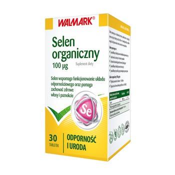 Selen, 100 µg, tabletki, 30 szt. (Walmark)