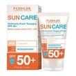 FlosLek Sun Care, ochronny krem tonujący SPF 50+, skóra sucha i wrażliwa, 50 ml