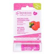 Benecos Natural Lip, balsam do ust, Malina, 4,8 g